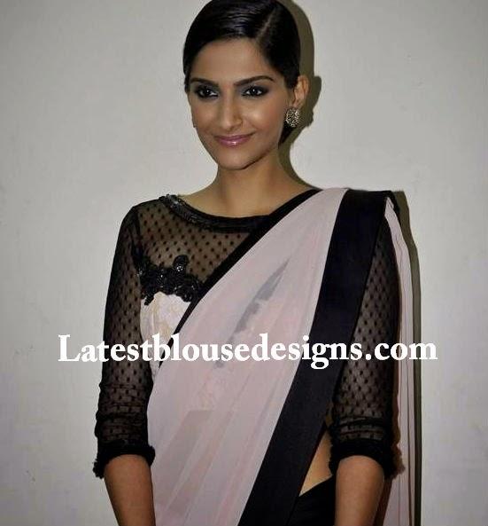 quarter sleeves blouse patterns