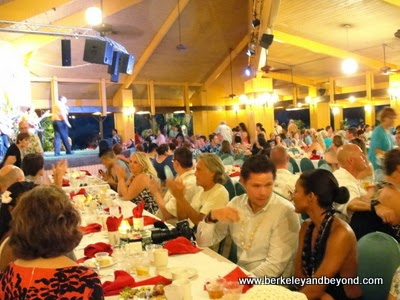 dinner at Smith's Tropical Paradise Garden Luau in Kapaa, Kauai, Hawaii