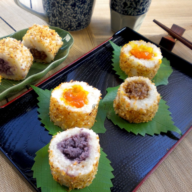 Adoras box sweet sushi kakanin is a collective term for rice based sweet filipino snacks and cakes the root word kanin simply means rice these snacks lost their popularity when forumfinder Gallery