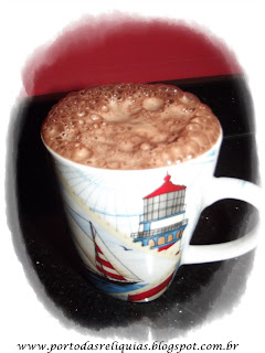 cappuccino caseiro para espantar o frio