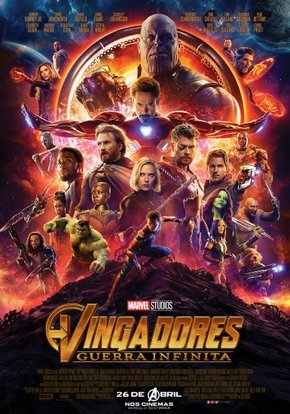 Vingadores - Guerra Infinita Legendado Torrent
