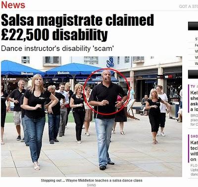Golpista que se aposentou por invalidez é professor de salsa