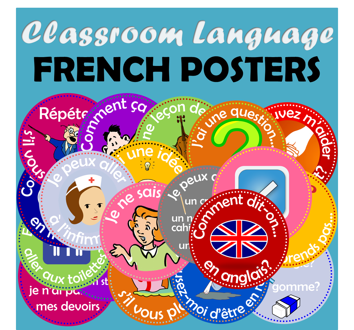 http://www.teacherspayteachers.com/Product/FRENCH-FLASHCARDS-CLASSROOM-LANGUAGE-363691