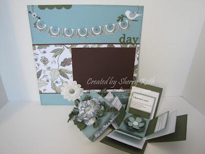 April Scrapbook Kit