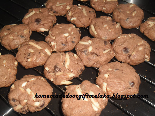 Chocolate Chip Cookies Melaka (Loose order & Doorgift)