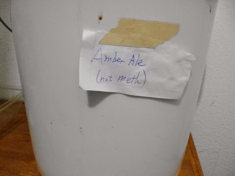 Amber Ale not meth