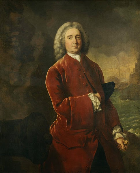 Edward Vernon by Thomas Gainsborough, 1753