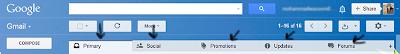tabs of gmail inbox