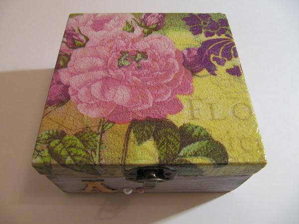 Como hacer caja madera - Manualidades con cajas de madera ...