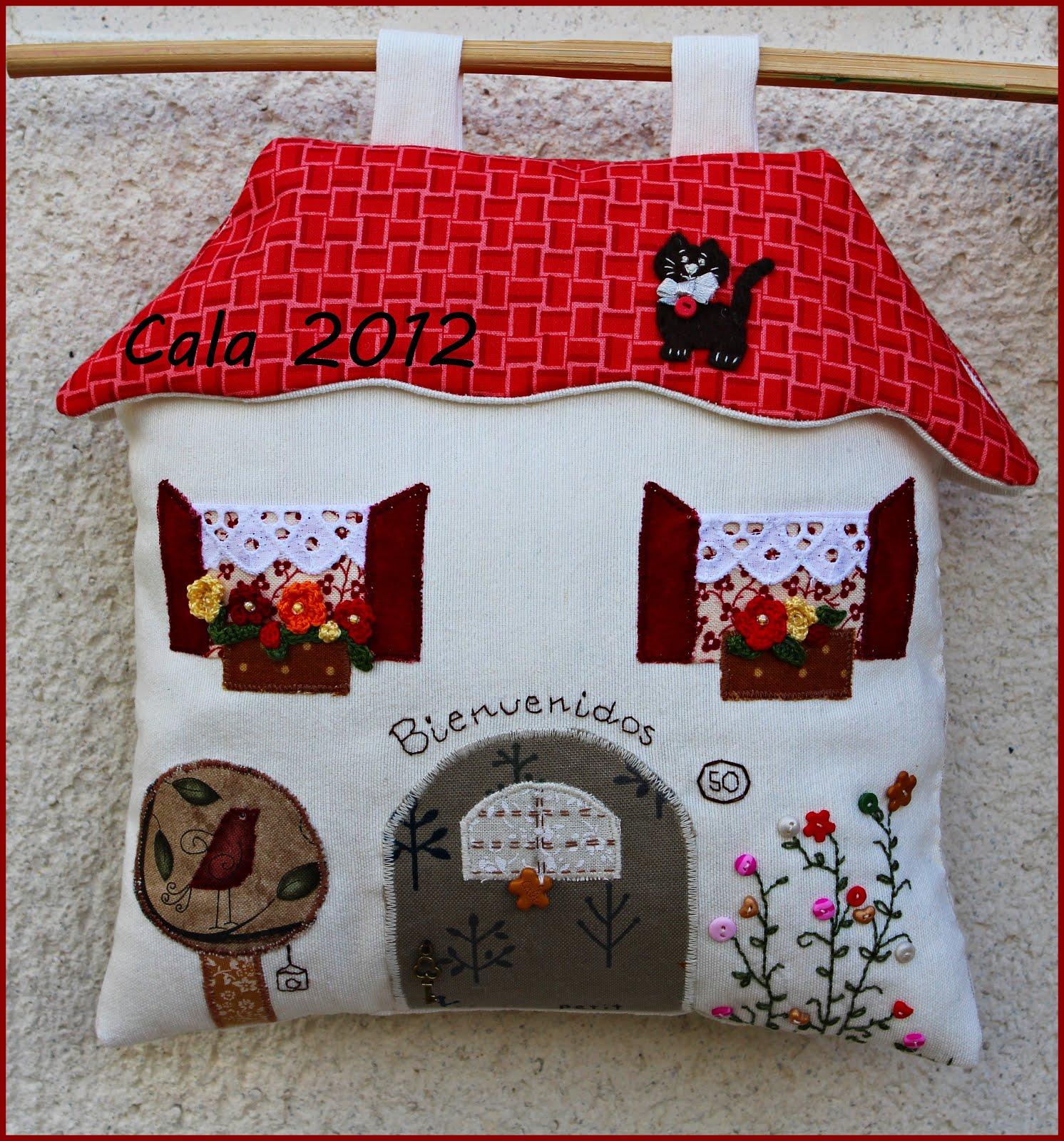 Caprichos de calabacina mi casita de patchwork - Patchwork en casa patrones ...
