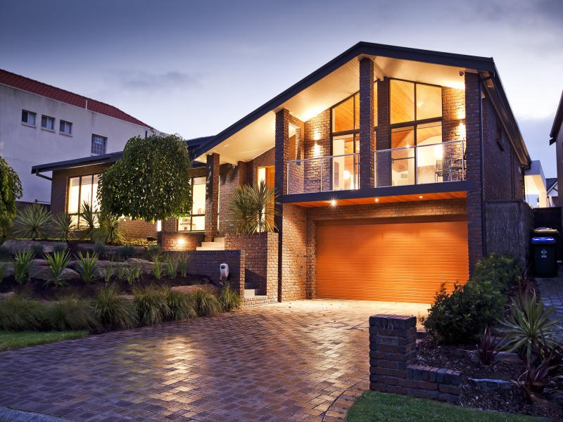 Fotos de fachadas de casas bonitas vote por sus fachadas - Fachada ladrillo visto ...