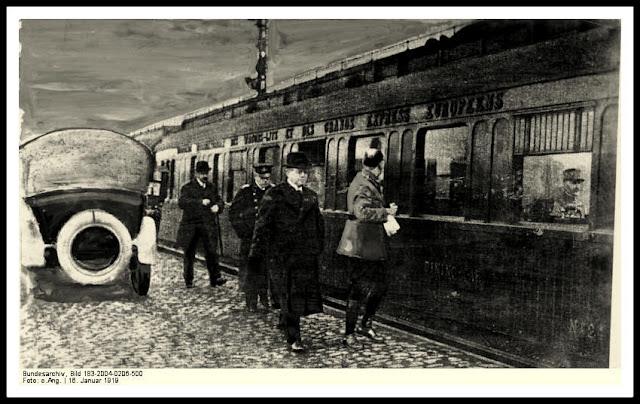 vagon armisticio Mathias Erzberger vagon 2419D rendicion alemana