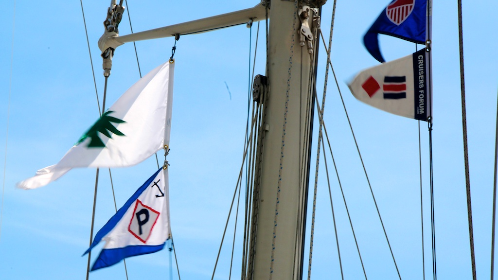 Flags Aboard And The Seattle Flagmaker