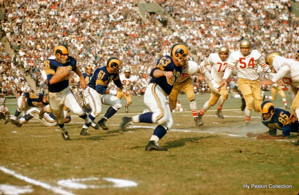 Rams - 49'ers 1957 Rams