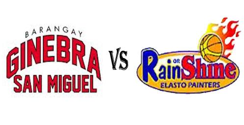 December 14, Brgy Ginebra San Miguel vs Rain or Shine Elasto Painters Live Streaming