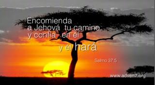 """ESPERA EN ÉL Y ÉL HARÁ (Sal 37:5) """"Las fuerzas espirituales no pueden obrar mientras actúan las fue"""