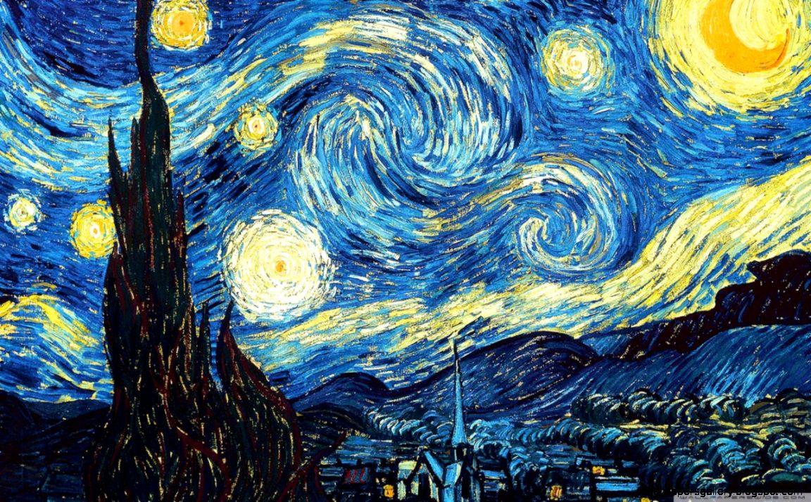 The Starry Night HD desktop wallpaper  Widescreen  High