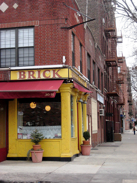 Brick Cafe Astoria NYC