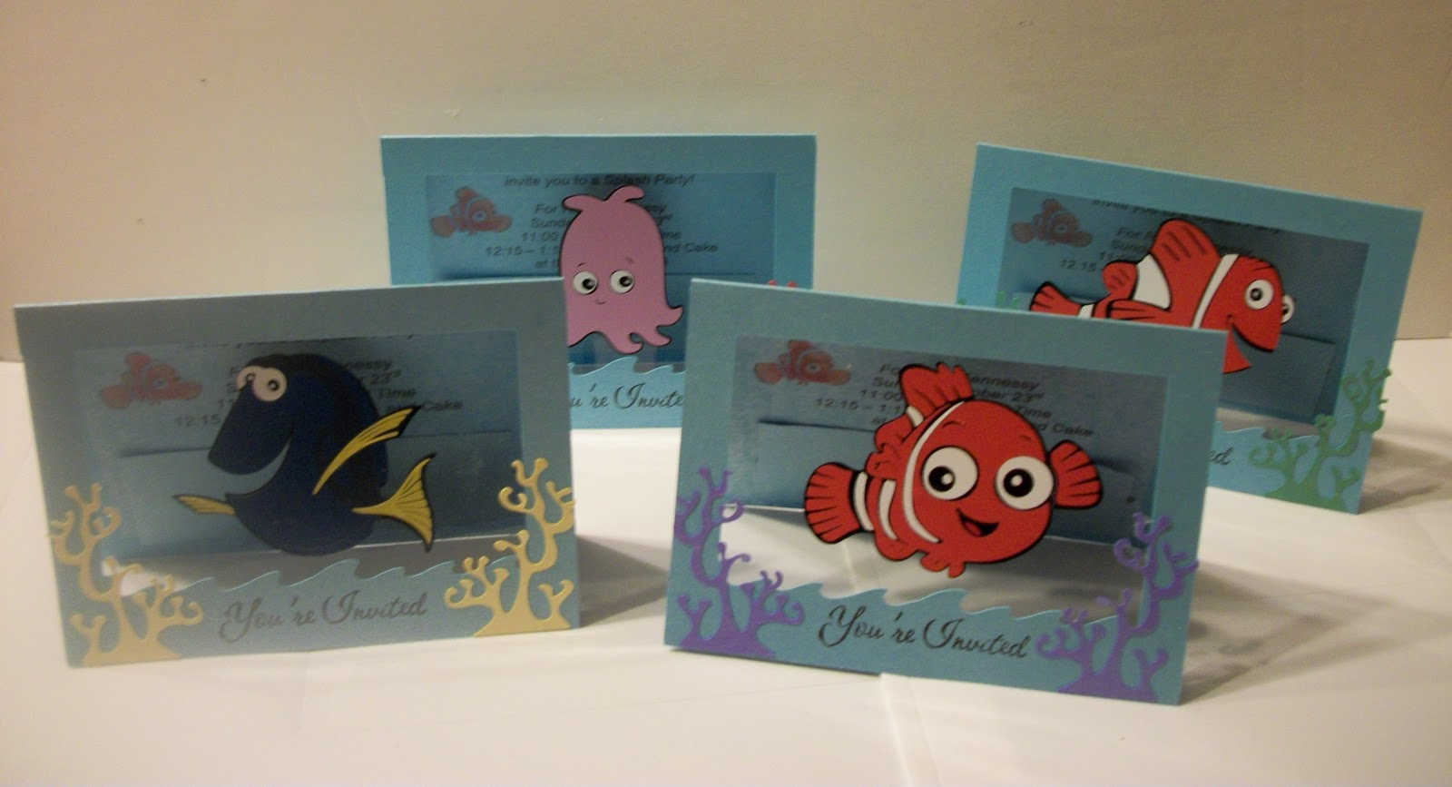 Goody Bag Diva: Disney Week begins - Nemo Birthday Invites!