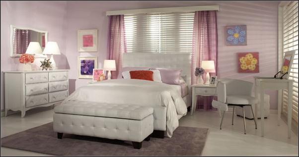 Amazing Purple Bedroom Ideas Women