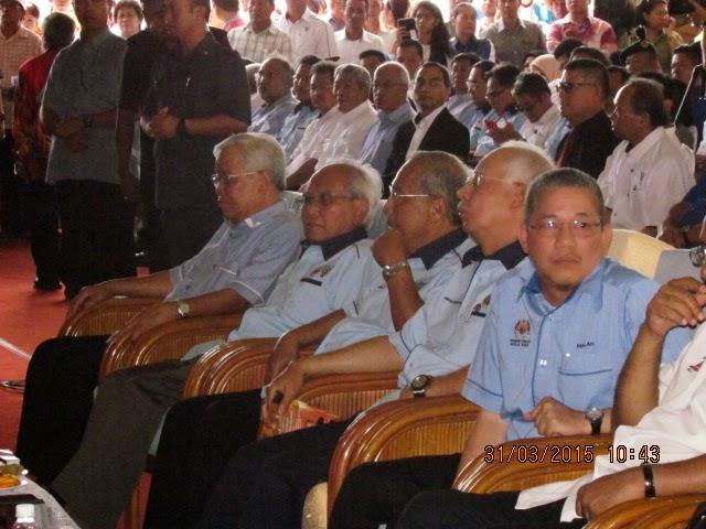 GAMBAR Sekitar Majlis Pelancaran Pembinaan Lebuhraya Pan Borneo 31 Mac 2015 oleh YAB Datuk Patinggi Najib Razak