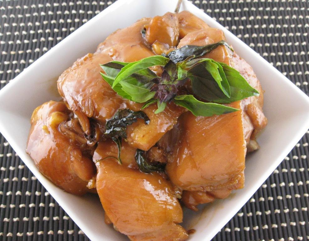 My Asian Kitchen: Three Cups Chicken (Sanbeiji 三杯雞)