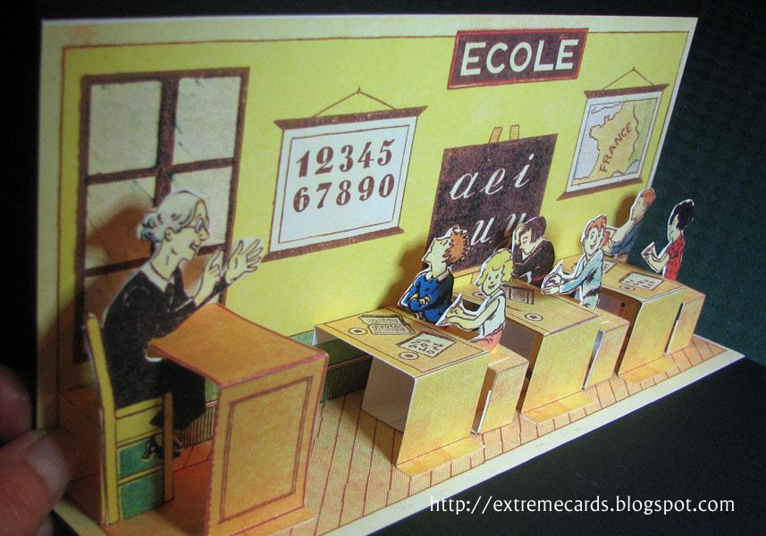 Ecole Pop Up Tutorial