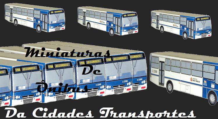Miniaturas De Ônibus Da Cidades Transportes