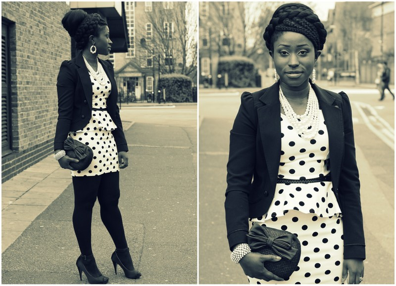 Peplum Dress And Jacket