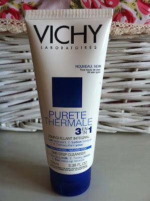 Vichy Purete Thermale 3 in 1 - mleczko do demakijażu twarzy i oczu