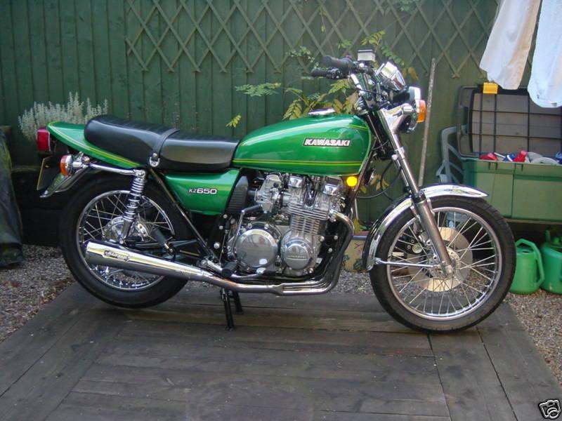kawasaki: 1978 Kawasaki Z 650