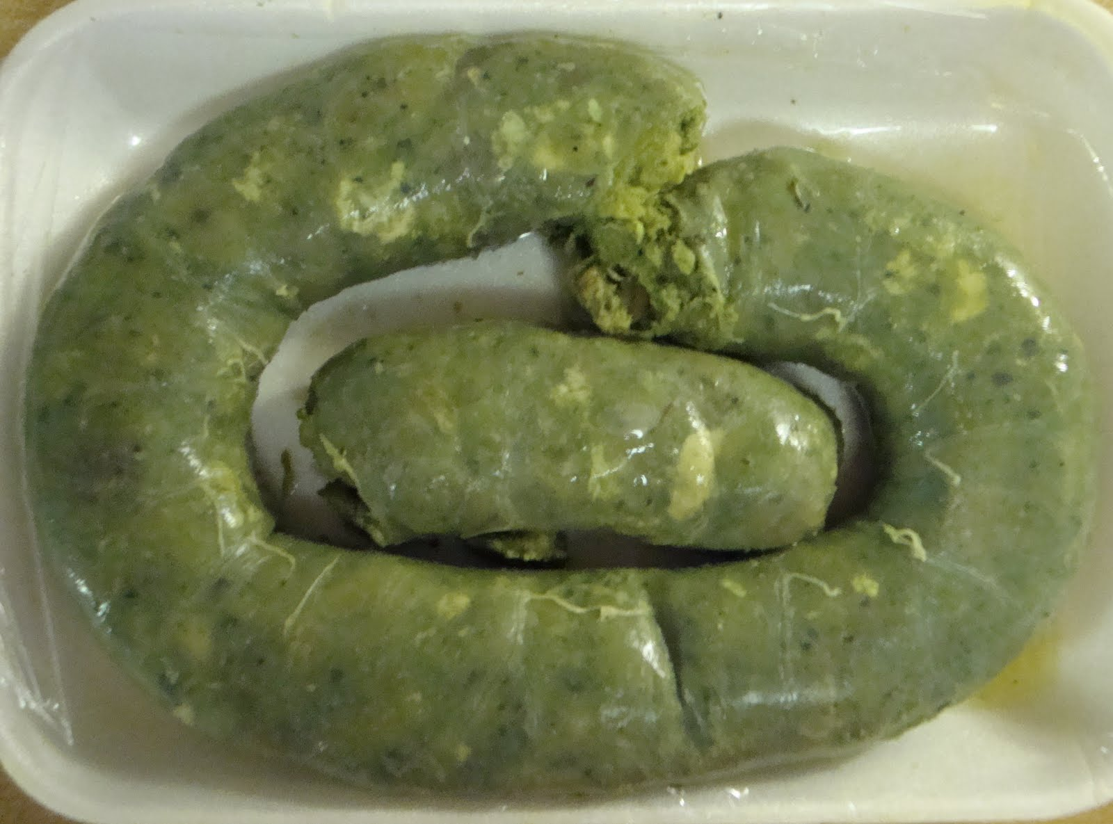 Food Floozie: It's Not Green Eggs and Ham, It's Green Sausage!