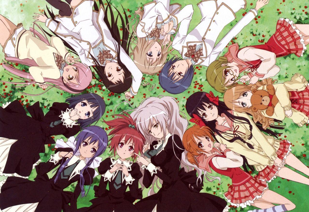 Strawberry Panic Tamao And Nagisa