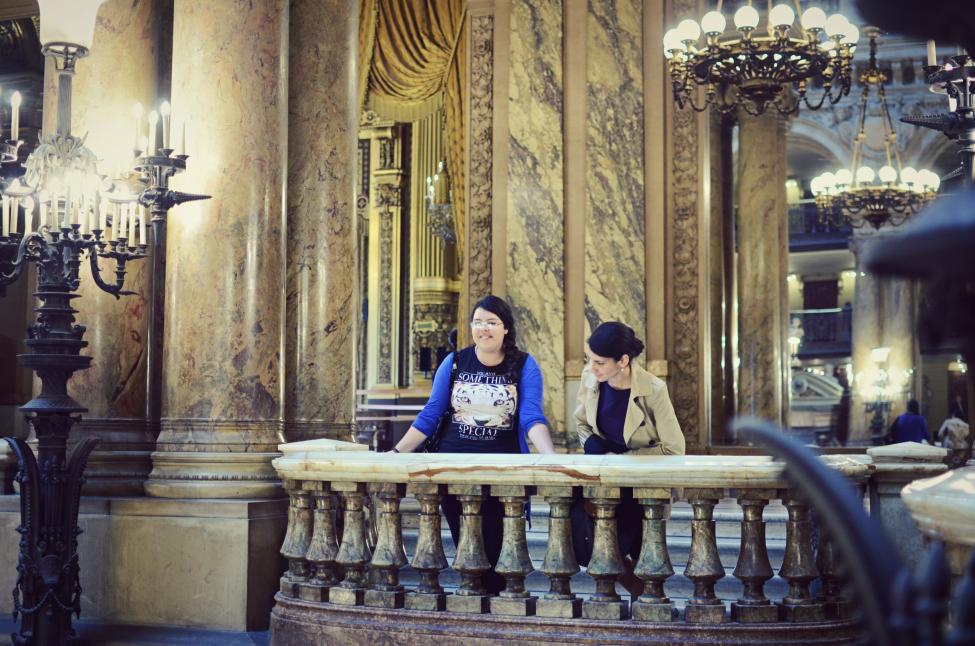 theserial shopper at the opera garnier in paris