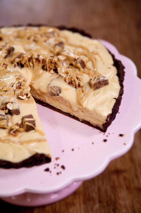 The Kate Tin: Chocolate peanut butter mousse tart