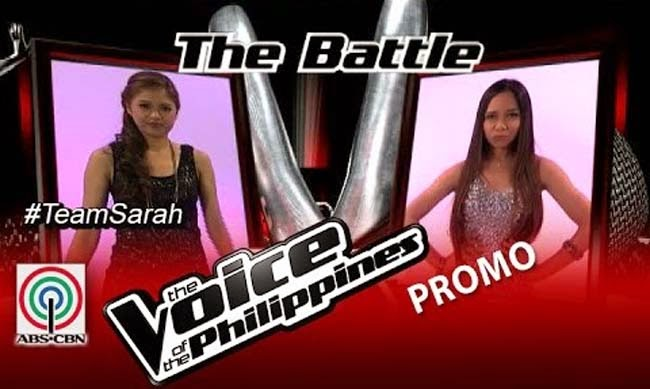 Watch Monique Lualhati vs Shaira Opsimar on The Voice of the Philippines Team Sarah's Battles Round