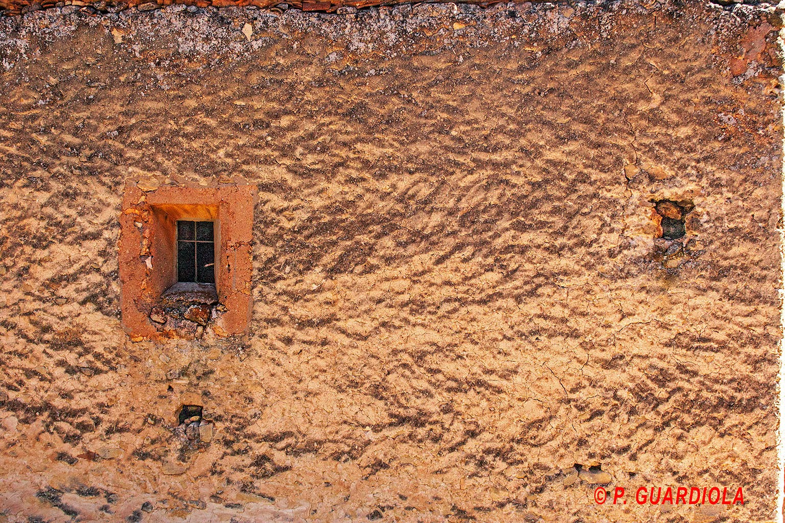 Casa de campo abandonada en Hondares