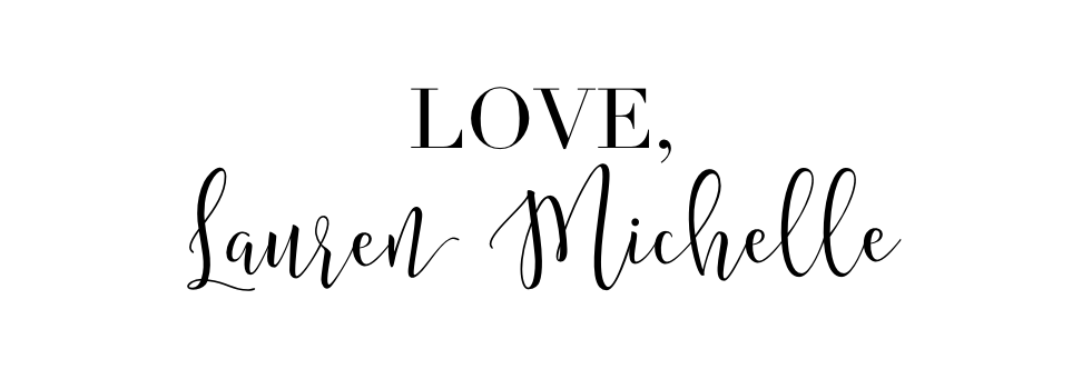 Love, Lauren Michelle