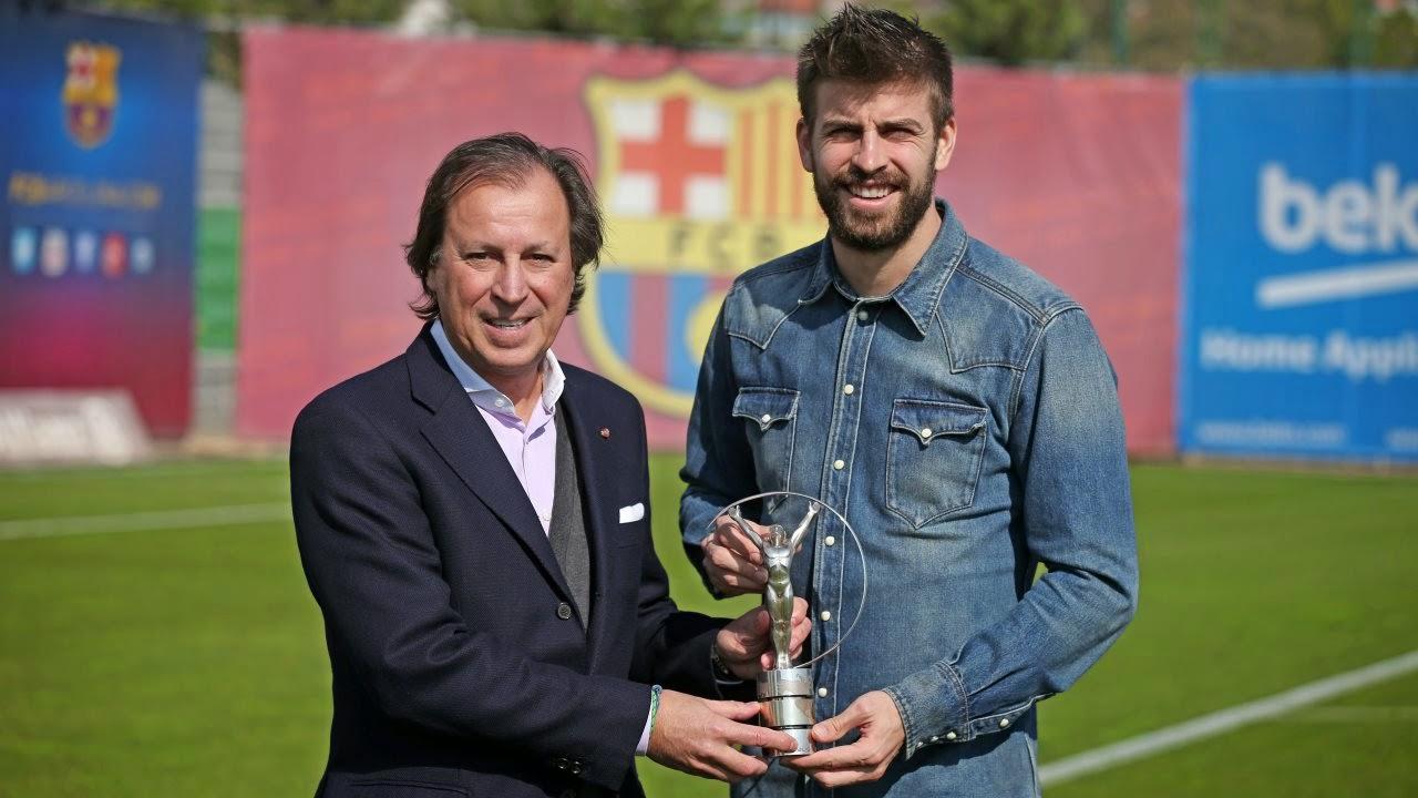 Piqué, nuevo embajador de la Fundación Laureus España