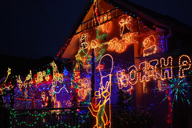 Sydney Christmas Lights Display 2012 Dulwich Hill