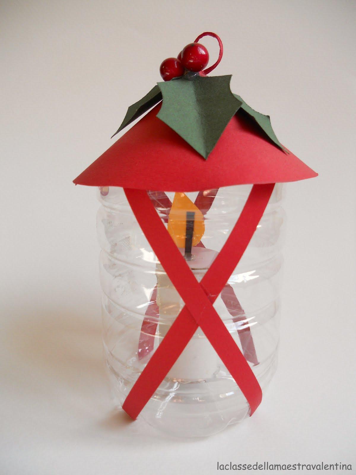 La classe della maestra valentina le lanternine cassetto n 2 for Addobbi natalizi per la classe