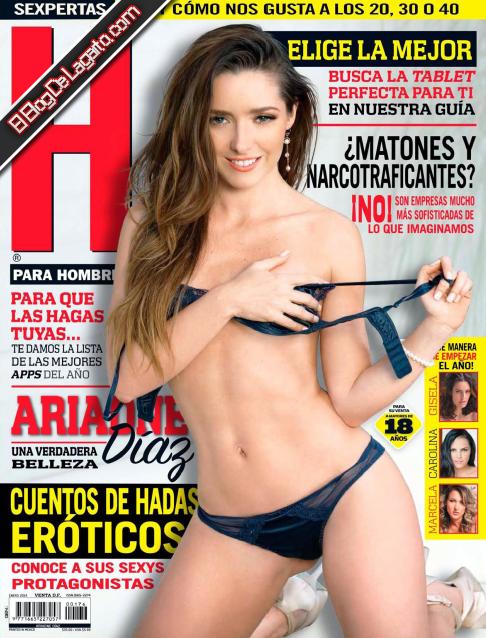 Revista H Para Hombres Enero 2014 MEGA - Ariadne Diaz HQ