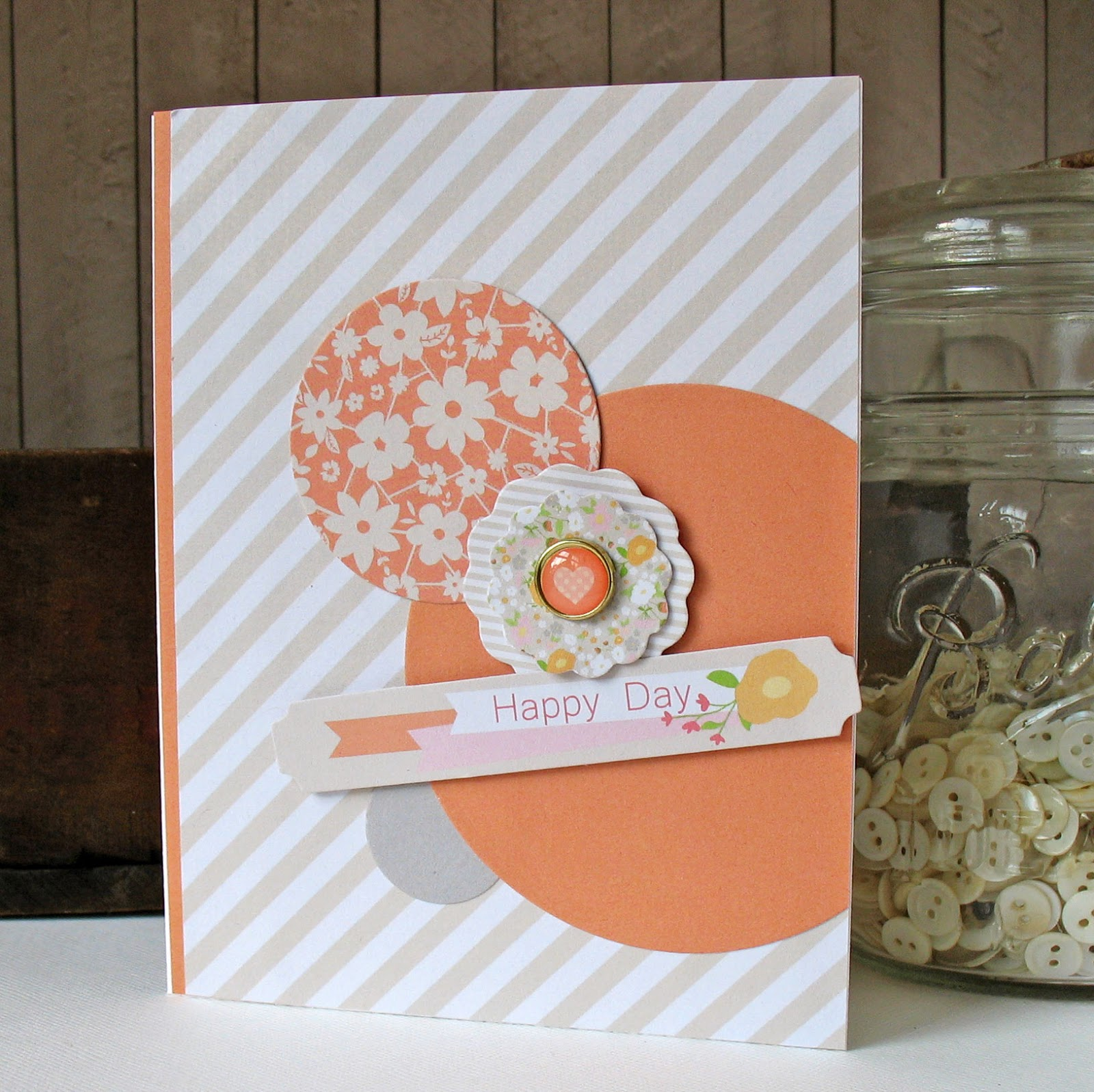 Kathy Martin Chickaniddy Crafts August Pinterest Card