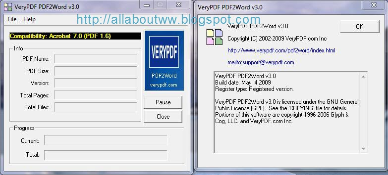 V3 incl. The pdf2word presented software-2012.