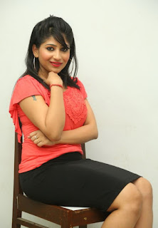 Madhulagna Das Pictures in Black Short Skirt at Andala Chandhamama Press Meet ~ Celebs Next