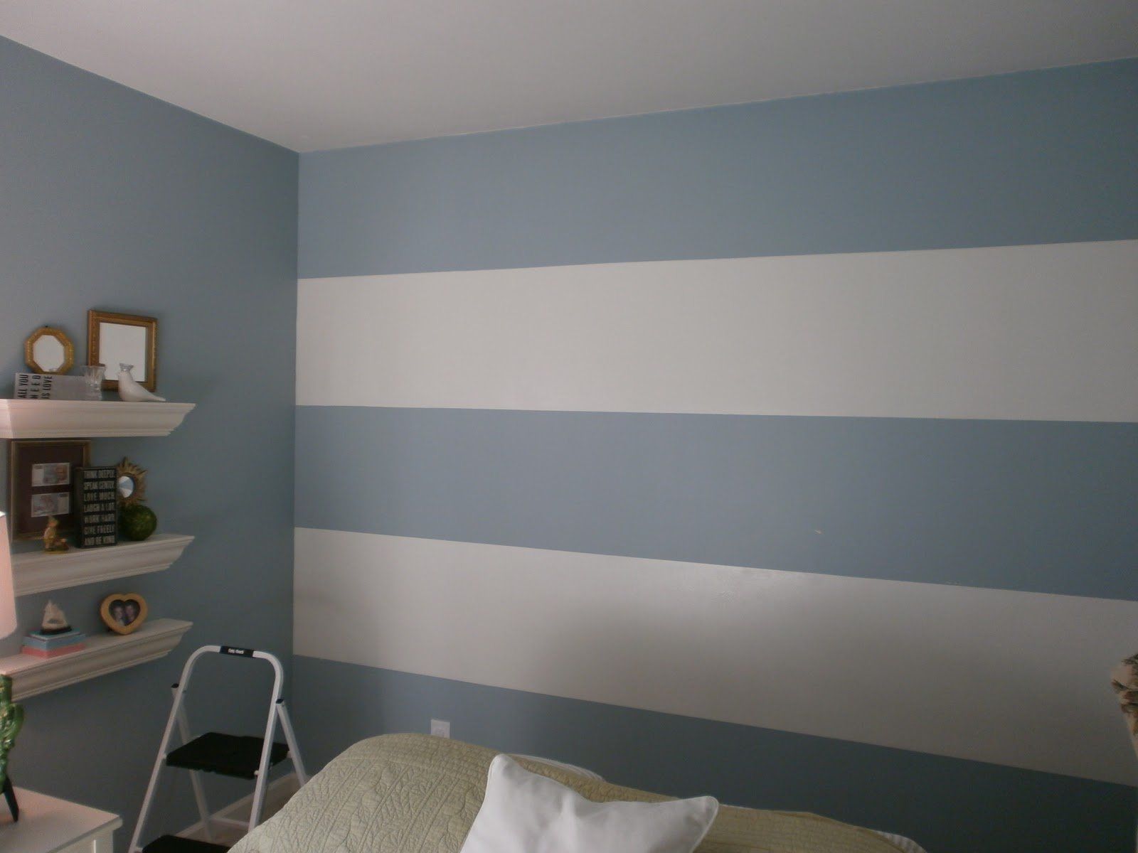 How To Paint A Room With Horizontal Stripes
