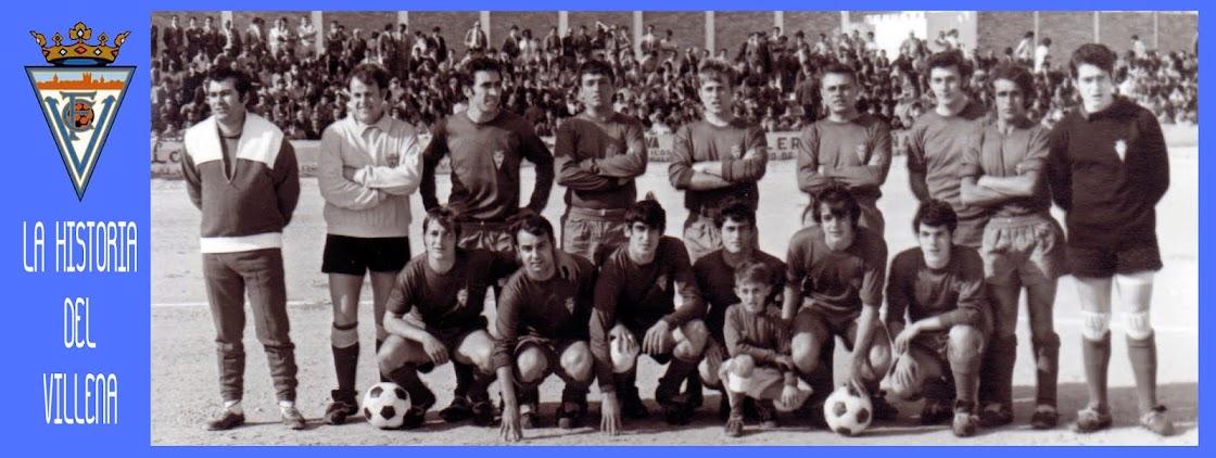 Historia del fútbol en Villena.