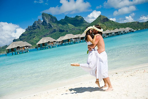 Exotic places bora bora weddings traditional polynesian weddings can be arranged by most of the top resorts and hotels on bora bora island whether celebrating your anniversary in bora bora junglespirit Image collections