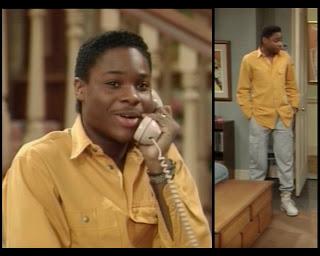 Cosby Show Huxtable fashion blog 80s sitcom Malcolm Jamal Warner Theo Huxtable