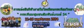 วีดีโอการแข่งขันกีฬาภายในโรงเรียนกระเทียมวิทยา 2554